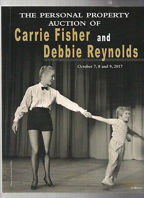 Personal Property Auction Carrie Fisher And Debbie Reynolds Catalog 2017