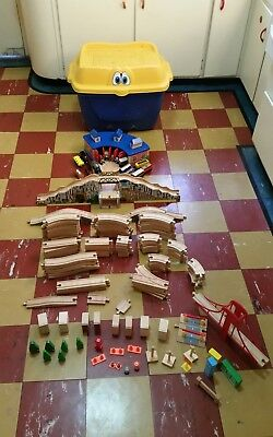 Thomas the Tank Engine Wooden Train Set bulk lot.