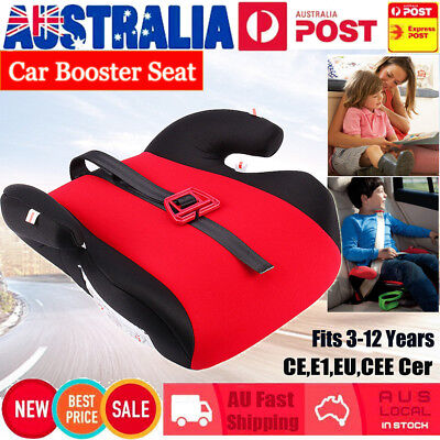 Car Booster Seat Safety Chair Cushion Pad For Toddler Child Kids Sturdy AU SHIP