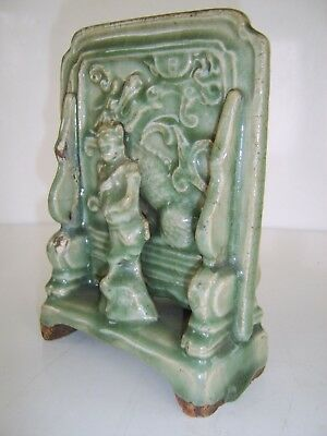 Rare Ming Dynsaty 14-15Th Century Chinese Antique Celadon Table Screen Not Vase