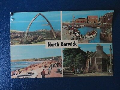 Postcard 1972 ,  4 Views of North Berwick, East Lothian