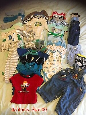 Baby Boy Pre Loved Bulk Lot Size 00