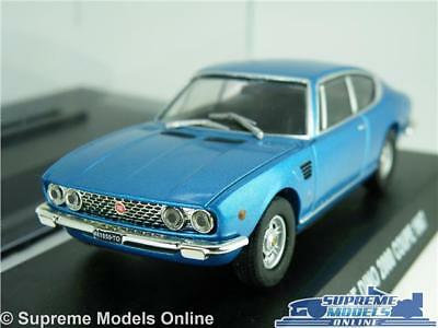 Fiat Dino 2000 Coupe Model Car 1:43 Scale Blue + Display Case 1967 Norev K8