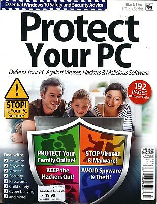 BLACK DOG MAGAZINE I-TECH SERIES #34 Protect Your PC Rivista Informatica English