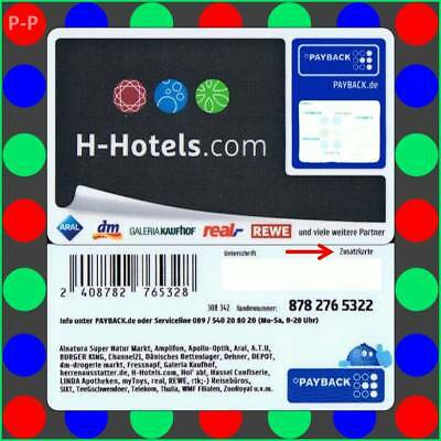"16002425 → H-Hotels.com -  Payback Karte ""Z""→ s. Text!"