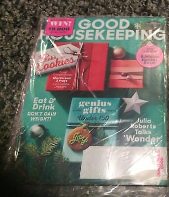 Good Housekeeping Magazine,December 2017,Holiday Crafts,Decorating,Gifts,Recipes