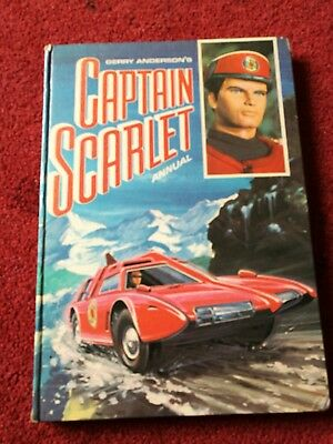 Gerry Anderson Captain Scarlet Annual