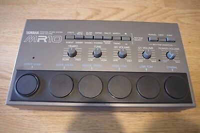 Yamaha MR 10 Drum Machine analog Drumcomputer alternative zu Roland TR Boss DR