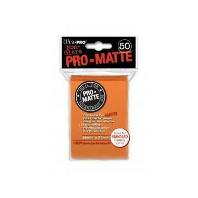 Orange Pro-Matte Sleeves (50) ohne NEU