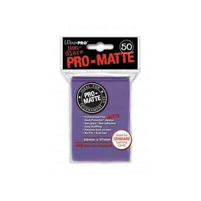 Purple Pro-Matte Sleeves (50) ohne NEU