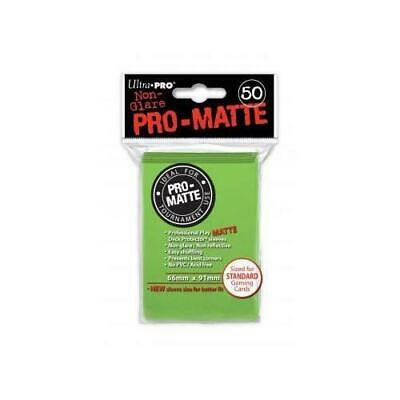Lime Green Pro-Matte Sleeves (50) ohne NEU