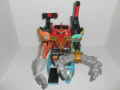 2002 Bandai Power Rangers Wild Force Deluxe Isis Command Megazord Parts/Project