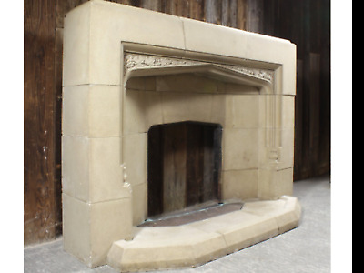 Antique Fire Surround and Hearth