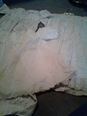 antique handmade christening  gowns