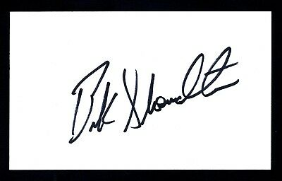 Buck Showalter MLB Coach Baltimore Orioles Div Champ Signed 3x5 Card C12982