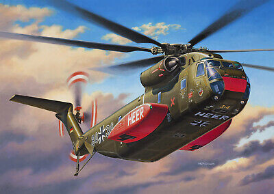 Revell 4858 CH-53G Heavy Transport Helico
