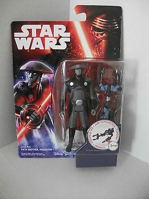 "Star Wars Rebels - Figur - "" Fifth Brother Inquisitor "" MOC NEU  OVP RARE !"
