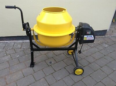 63 Litre Concrete mixer - Electric - Manufactured By KMS Direct