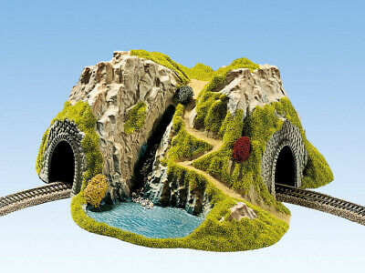 Noch 48730 Corner Tunnel single track, curved, 37 x 33 cm