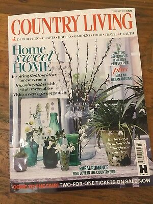 COUNTRY LIVING MAGAZINE February 2018 Edition