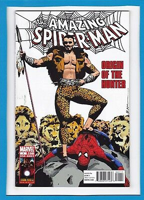 Amazing Spider-Man:origin Of The Hunter #1_June 2010_Kraven_Very Fine/near Mint!