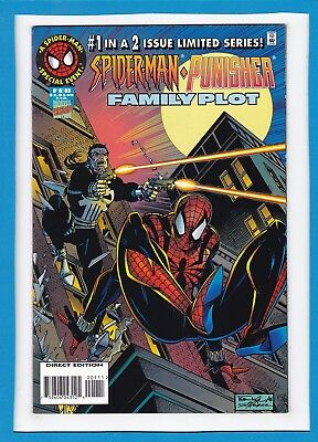 Spider-Man/punisher: Family Plot #1_February 1996_Near Mint_Limited Series!