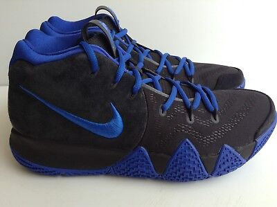 dc14d7b64016 NIKE KYRIE 3 Black Suede White Silt Red 852395 010 Men s Size 9 New ...