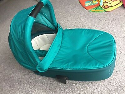 Mamas and Papas Armadillo Flip XT Carry Cot in Teal