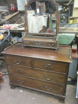 Mahogany Chest  Of Drawers For Renovation