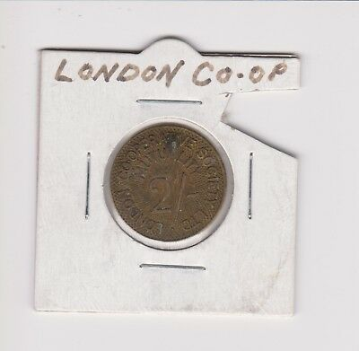 London Co-operative Society Limited 2/- Token.VERY COLLECTABLE.I.187