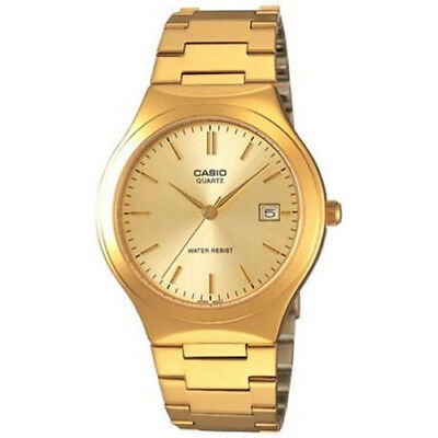 Casio Men's MTP-1275G-9A 'Classic' Gold-Tone Stainless Steel Watch