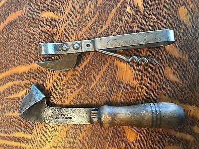 VTG Kitchen Tool Can Opener Lot W/ Pat Dates King