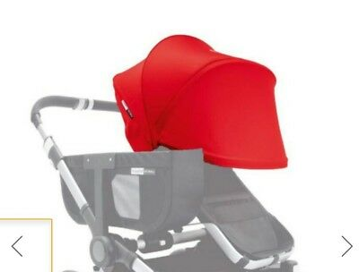 Brand New bugaboo donkey red extantdable hood fabric !