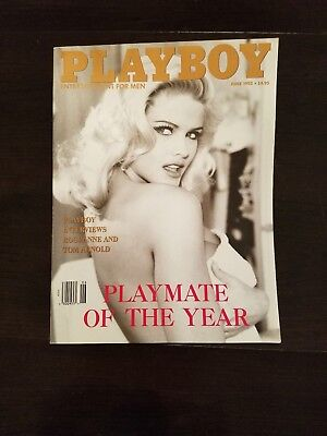 Vintage June 1993 Playboy Issue featuring Playmate of The Year Anna Nicole Smith