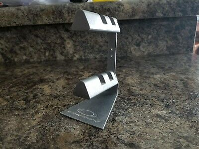 Oakley two teir metal sunglass retail display stand rare collectable