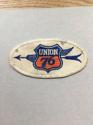1930-40's  UNION 76  - LARGE PATCH - RARELY SEEN -  RARE LOGO