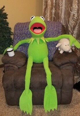 Large Kermit the frog, from the Muppet's
