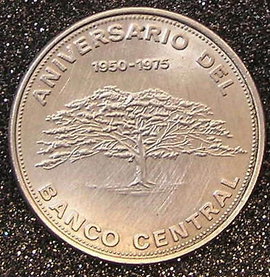 1-Coin from Costa Rica.  Diez-Colones.  1975.