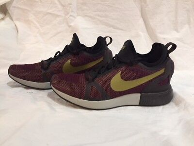 3641b78bc93e NIKE DUEL RACER Shoes Bordeaux Black Desert Moss 918228 601 NO BOX ...