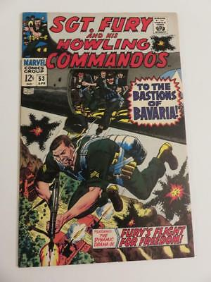 Sgt Fury And His Howling Commandos #53 Vf+