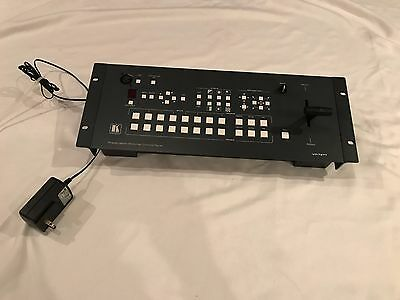 Kramer VP-727T Remote Control Panel Controller Unit w/ T Bar and Power Adapter!