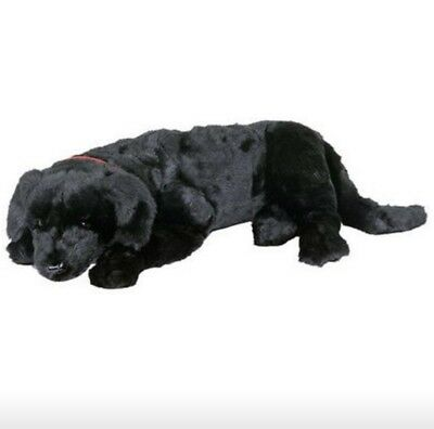 Ditz Designs Black Lab Dog Plush Stuffed Animal Life Size Puppy Hen House Large