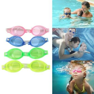 Kids Children Silicone Waterproof Anti Fog Swim Swimming Pool Goggles Glasses