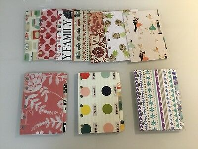 Pocket Planner Dashboards and Dividers for Filofax, Kikki K Small Planners