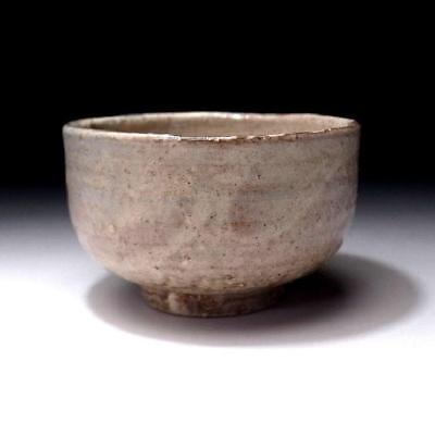 UF9:  Vintage Japanese Pottery Tea Bowl of Hagi ware