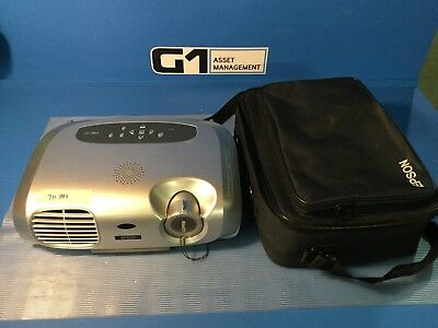 Epson EMP-S1 Projector 1200 Lumens Only 711 Hours Lamp Use, remote control  (A3)