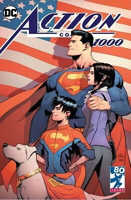 Action Comics 1000 Patrick Gleason Exclusive Variant Nm