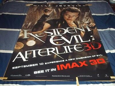 Resident Evil Afterlife 2010 3D Imax Original 1Sh Movie Poster 27X40 Ds