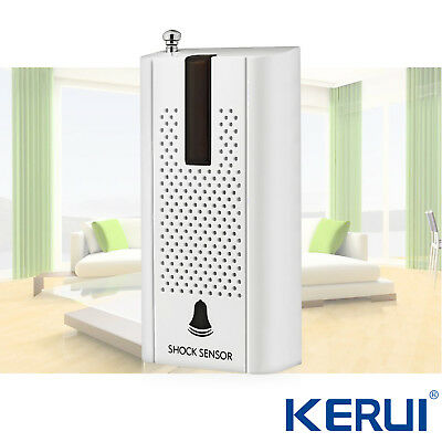 KERUI Door Window Vibration Detector Shock Sensor For Home Security Alarm System
