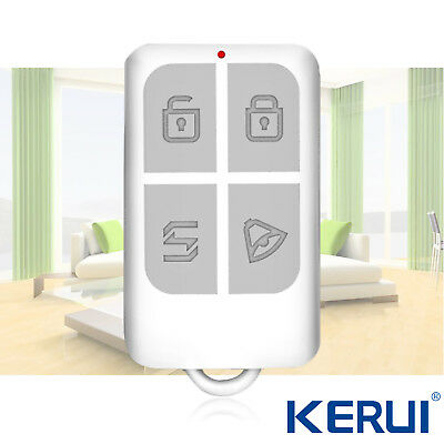 1 pcs Wireless Remote Controller For KERUI 433MHz Home Burglar Alarm System